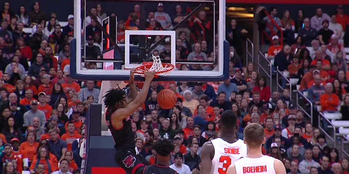 Arkansas State led Syracuse early, but Orange pull away in 82-52 win