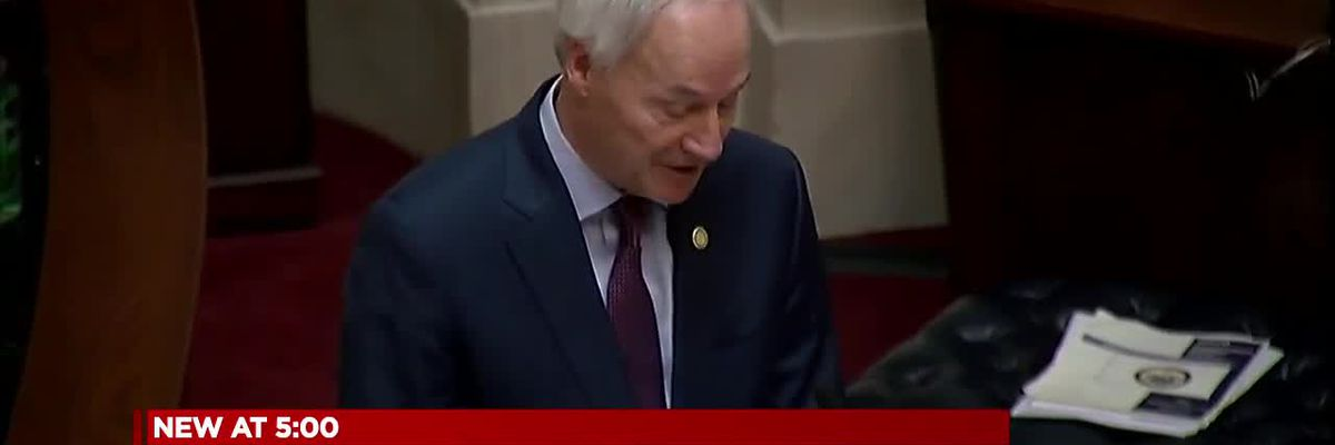 Gov. Hutchinson delivers State of the State address, COVID-19 update
