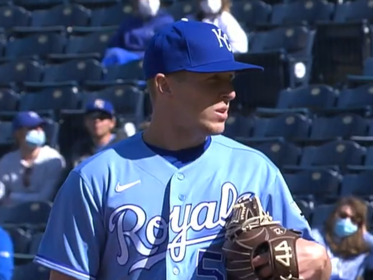 Tyler Zuber makes first appearance of 2021 with Royals