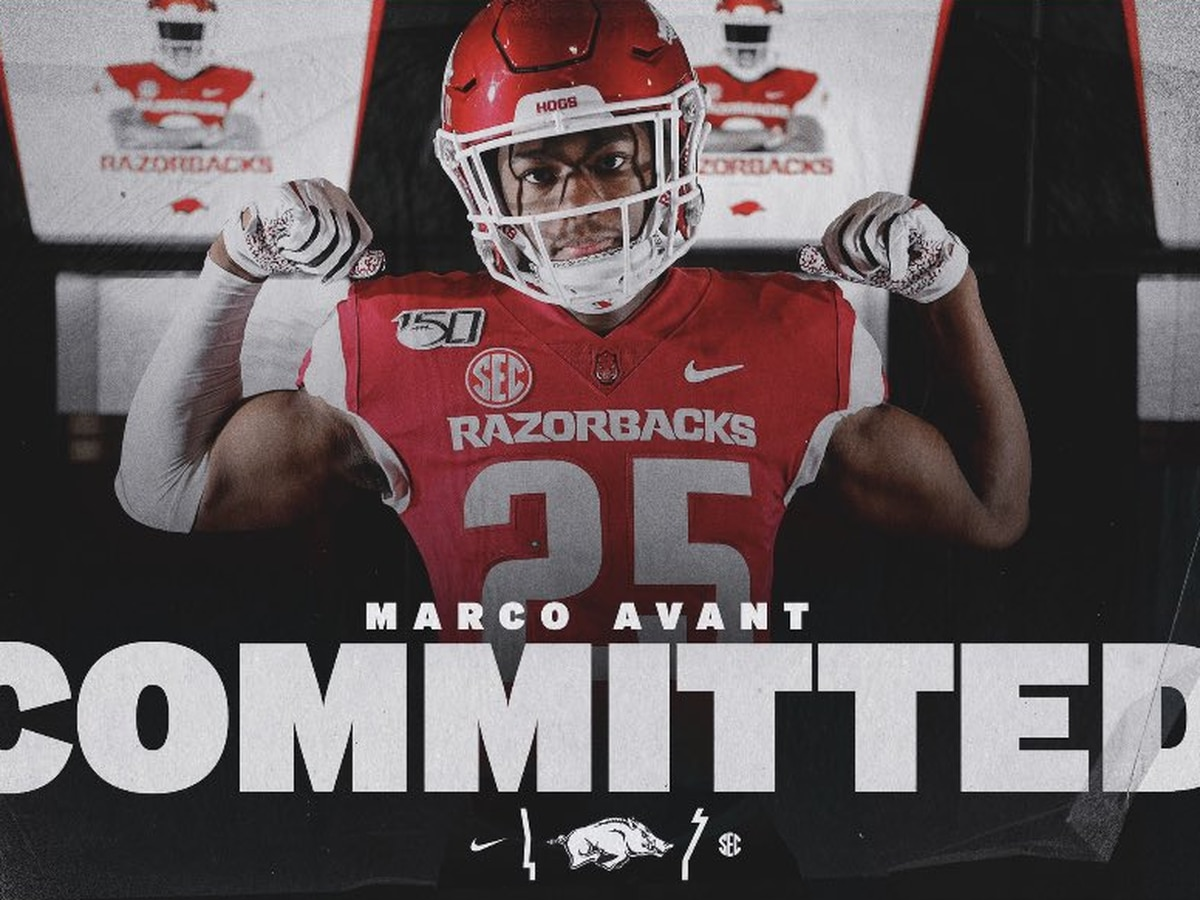 Jonesboro LB Marco Avant commits to Arkansas
