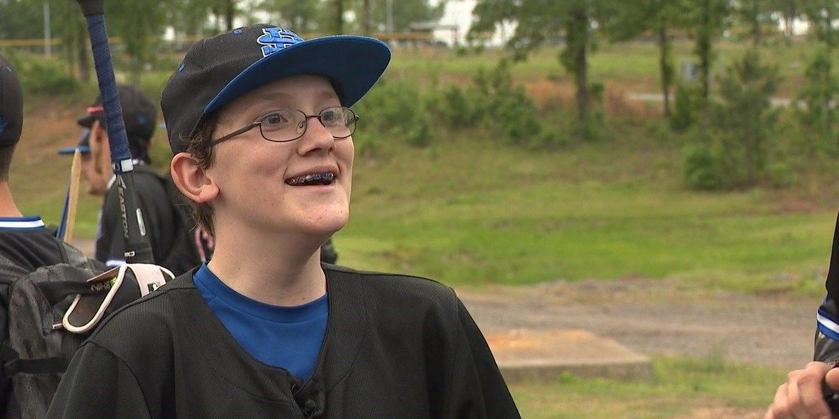 Autistic boy gets a special spot on baseball team