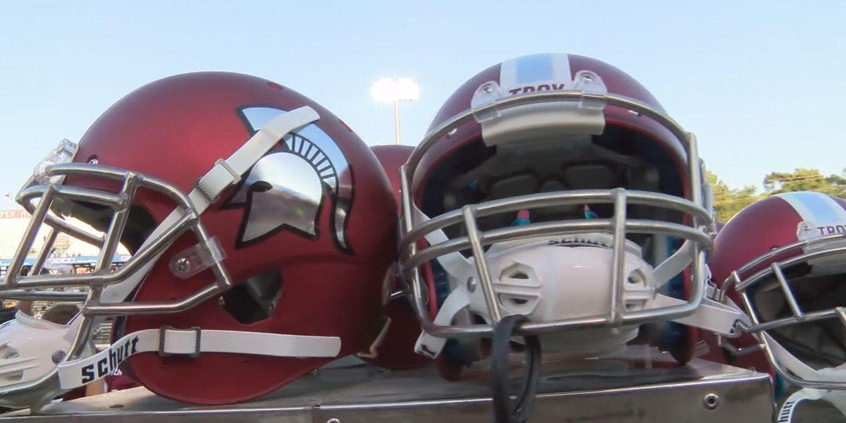 Troy and No. 15 Coastal Carolina football game postponed