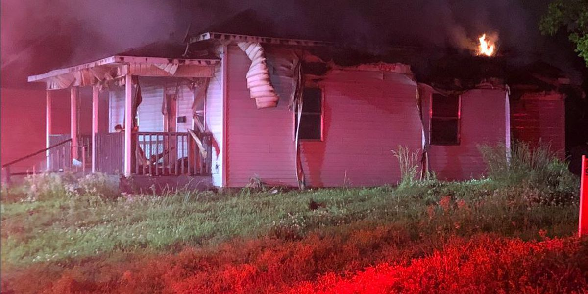 Officials: Early morning house fire appears 'suspicious'