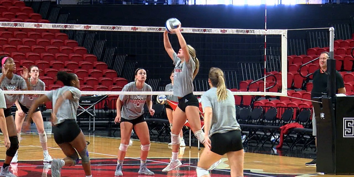Red Wolves volleyball prepares for A-State Invitational