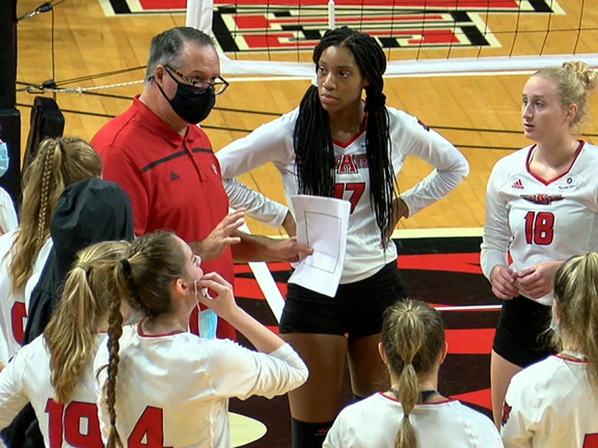 Arkansas State senior Madison Brown is SBC Volleyball Offensive Player of the Week