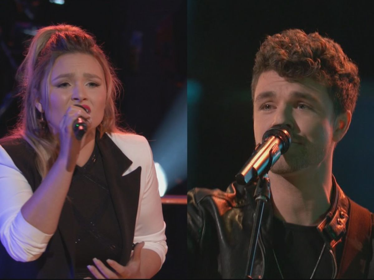 Two Region 8 performers sing for a spot in the next round of The Voice