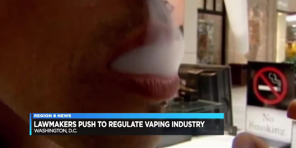 Texas lawmakers push to regulate the vaping industry