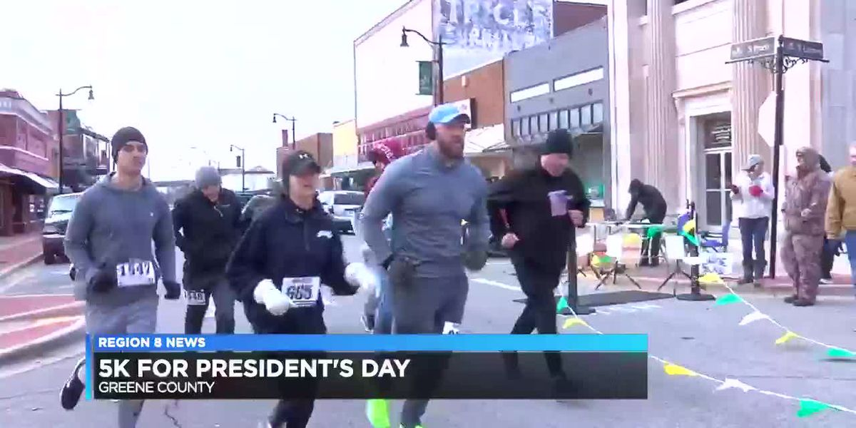 5K for Presidents' Day