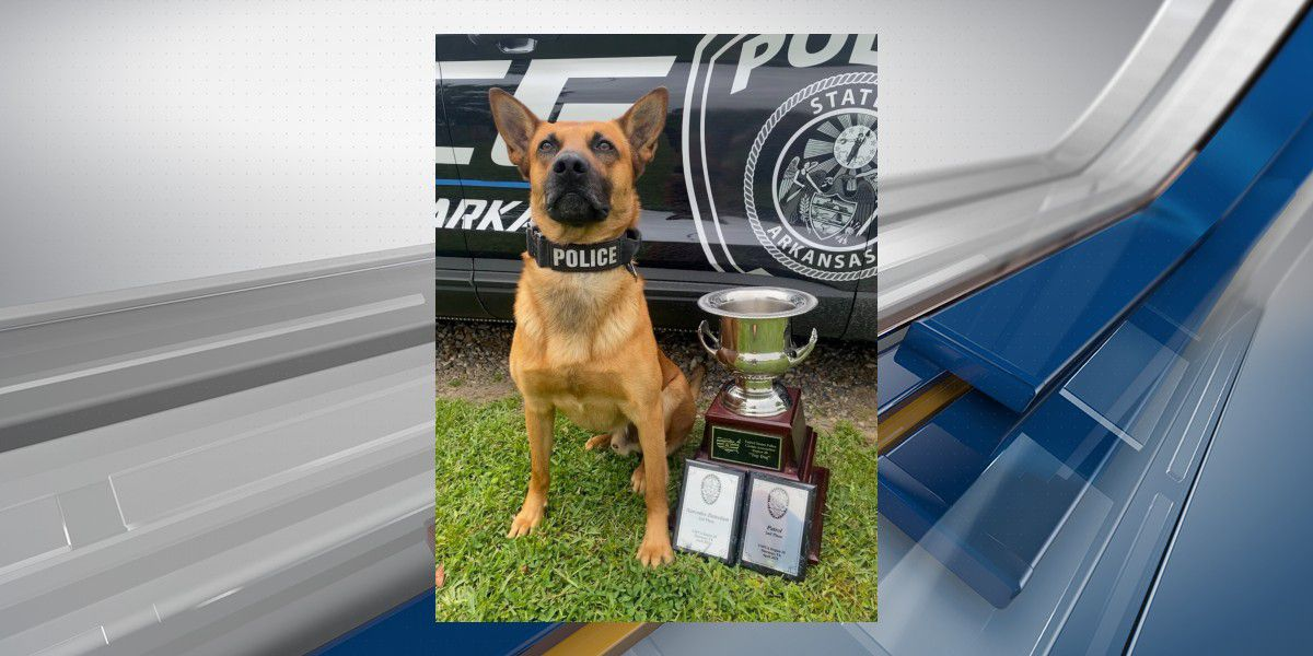 TOP DOG: Texarkana, Ark., police officer, K-9 take home top honors