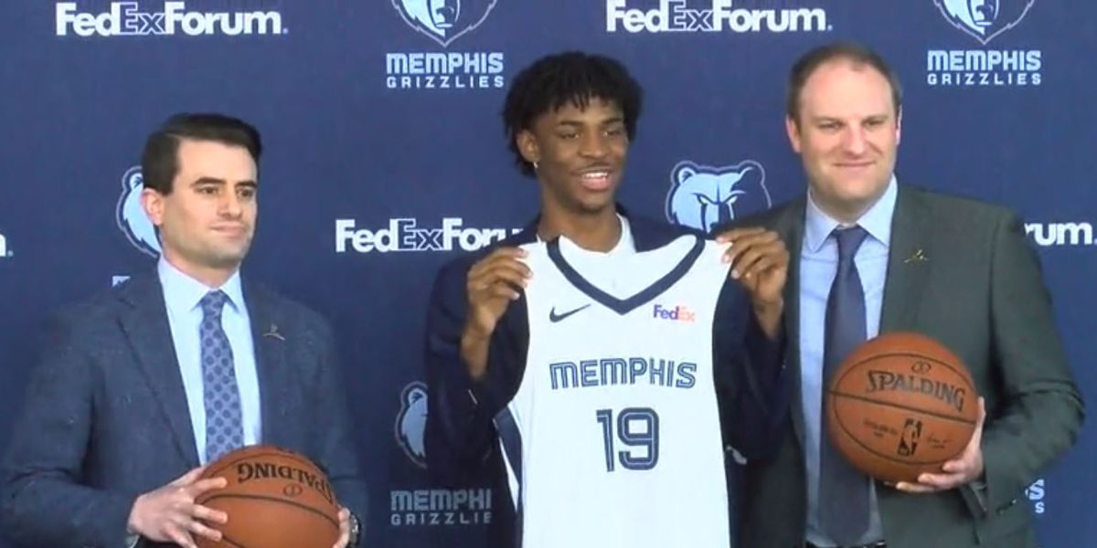 Ja Morant signs NBA contract with Grizzlies