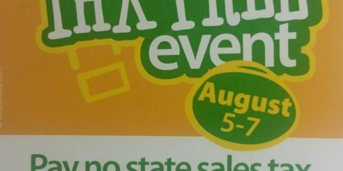 Sales tax holiday set for southeast Missouri city