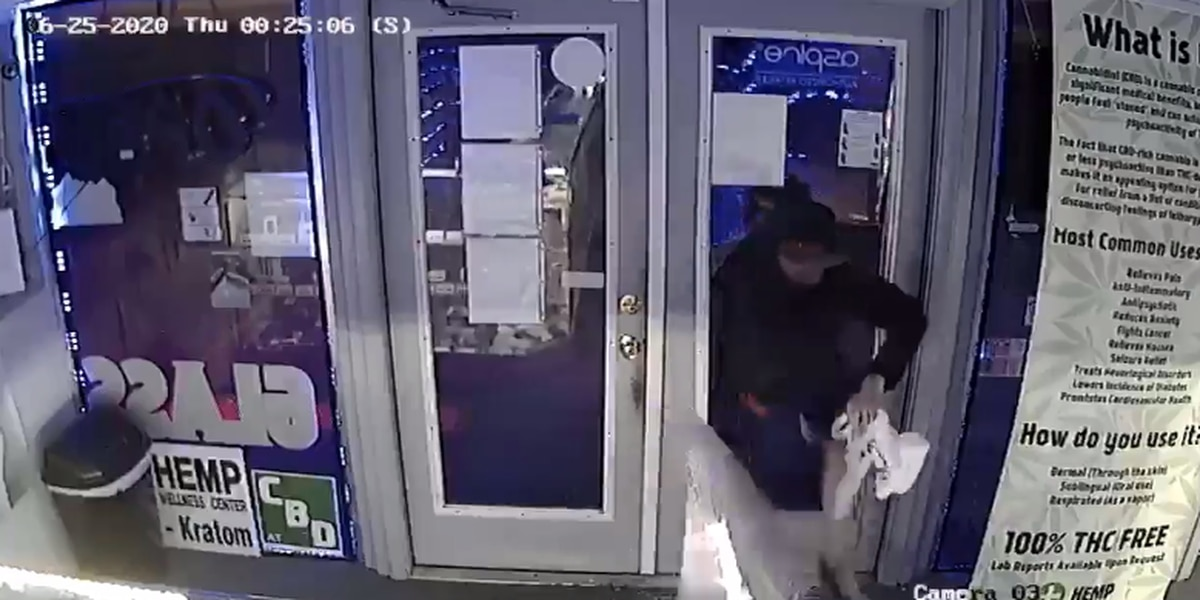 VIDEO: Poplar Bluff police investigating store break-in