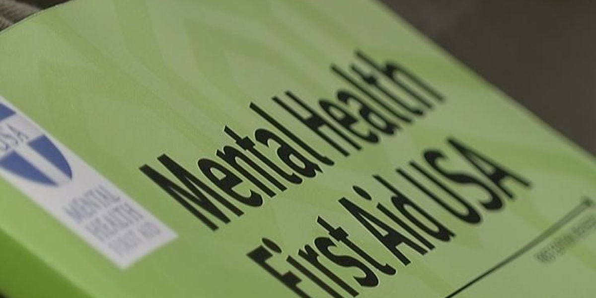 Mental Health First Aid class begins in Newport