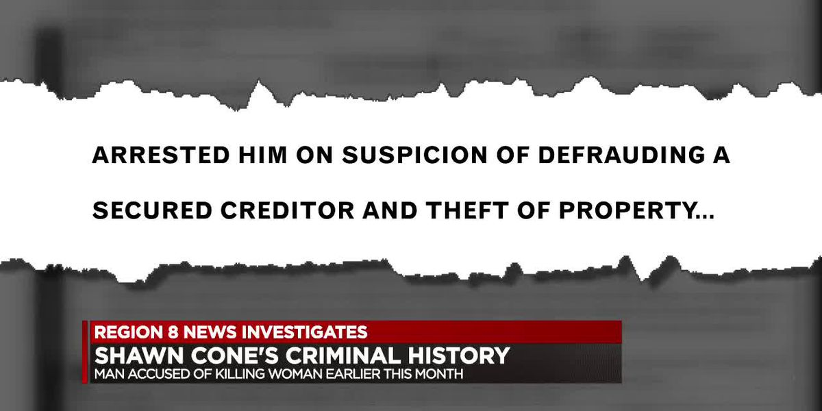 WATCH: Shawn Cone's criminal history