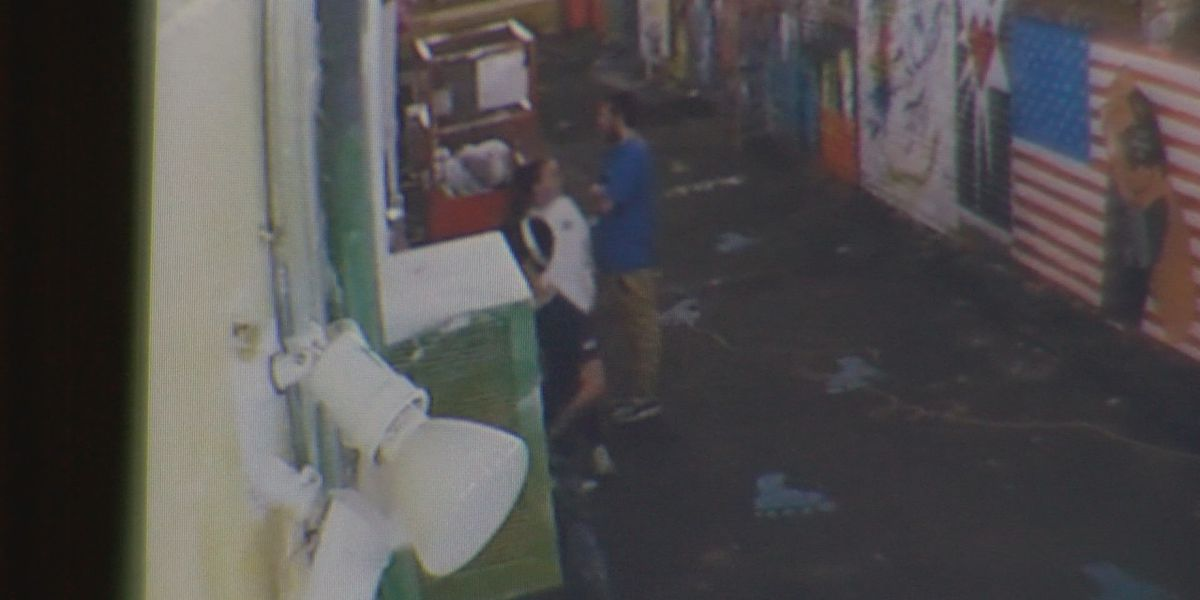 Art vandals caught on camera in Searcy