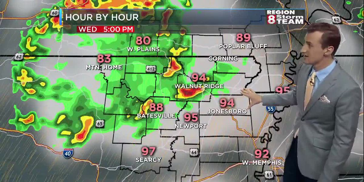 Bryan's Wednesday GMR8 Forecast 6/26
