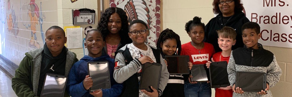 Region 8 groups, organizations receive iPads from utility company