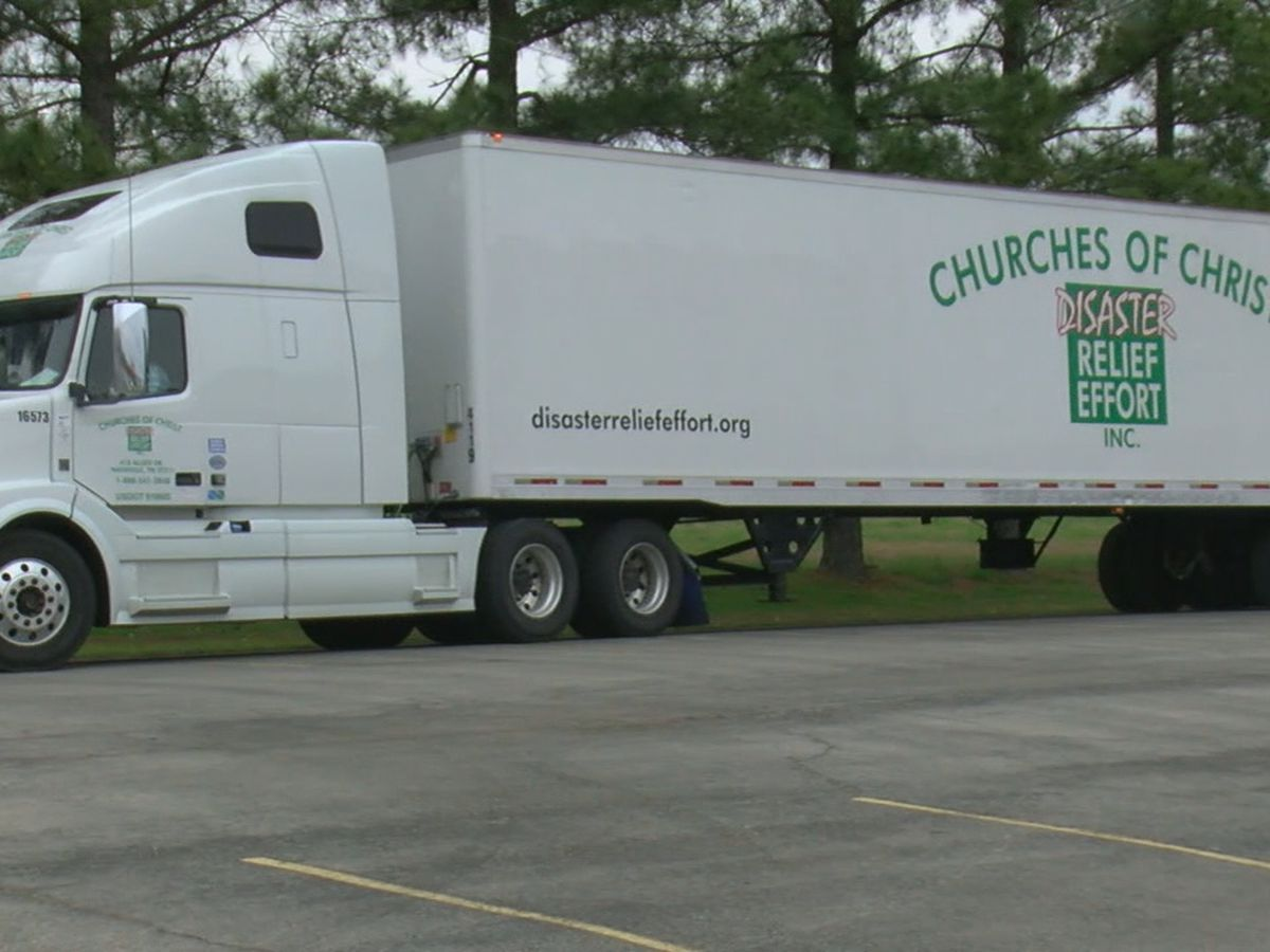 Churches, businesses accepting/distributing tornado relief