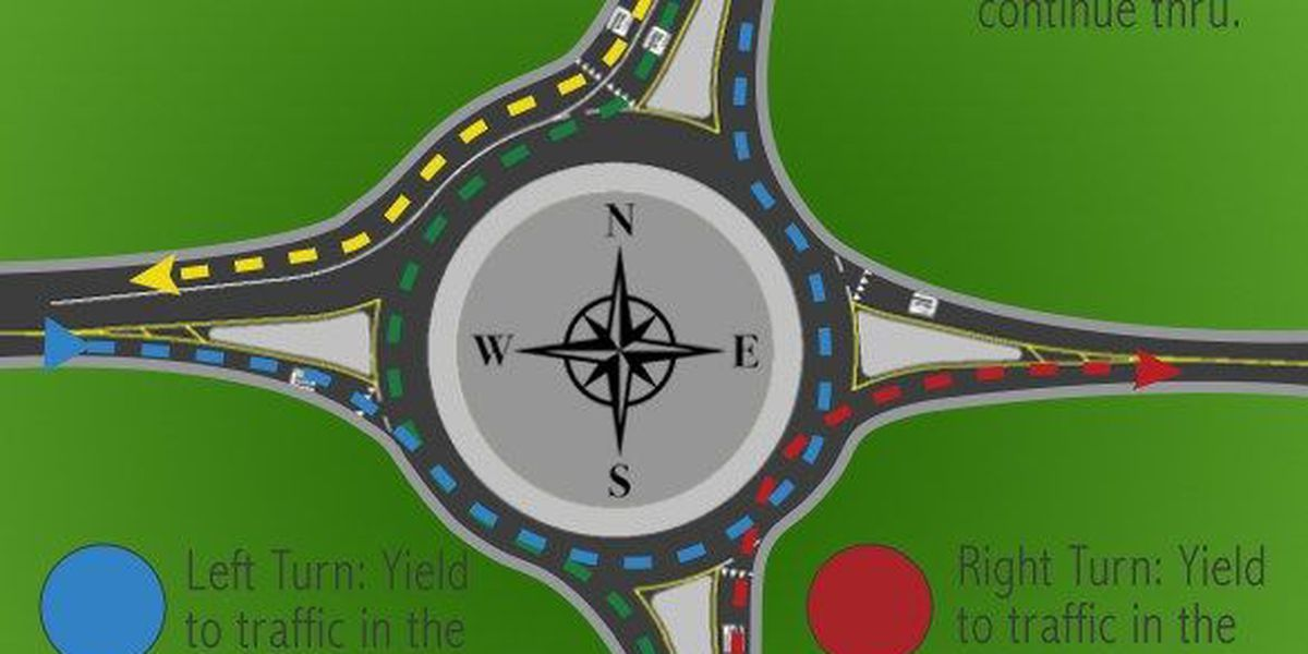 New roundabout project complete