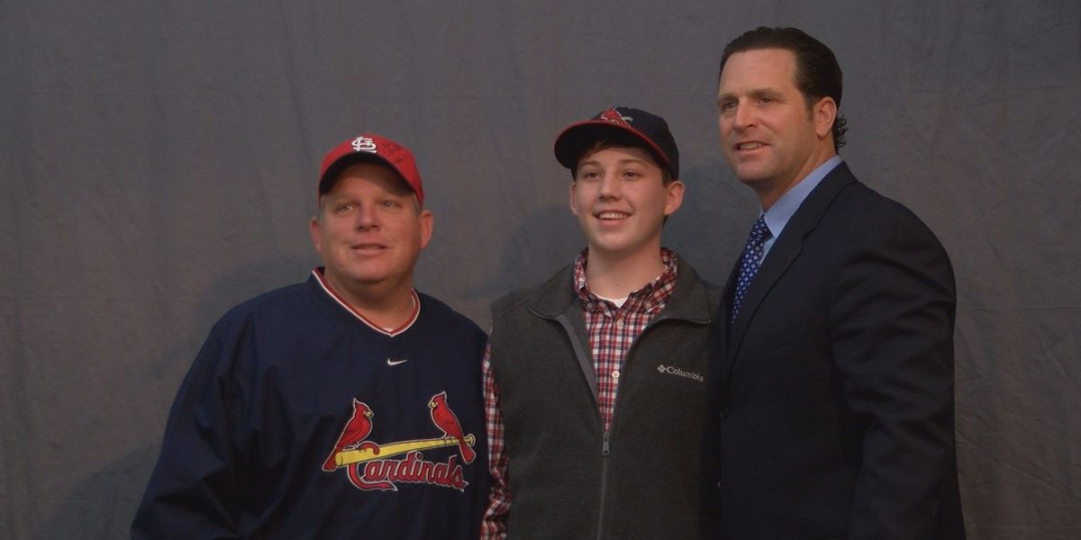 Mike Matheny speaks at Crowley's Ridge College
