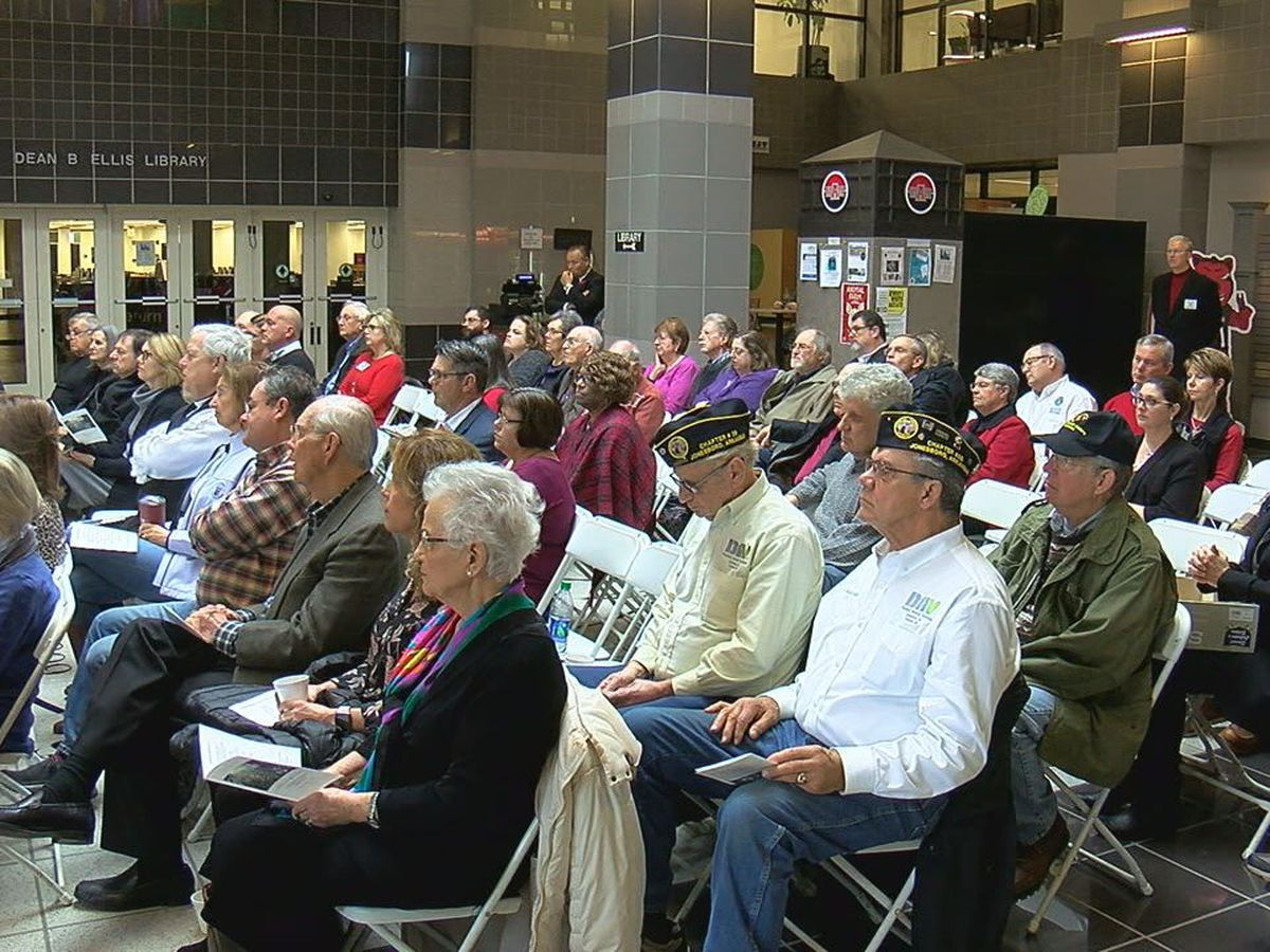 A-State honors veterans; remembers Armistice Day