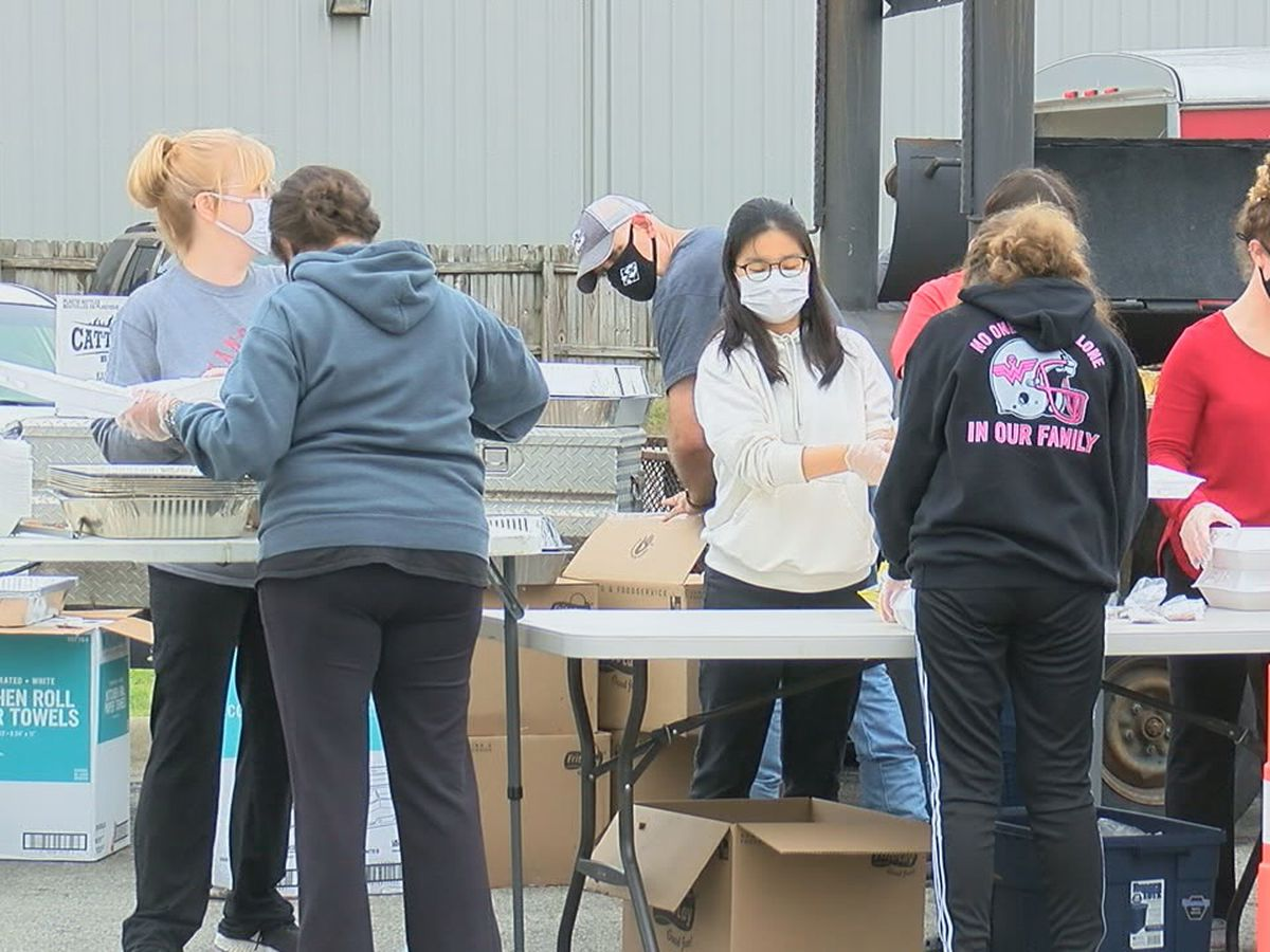 Local Jonesboro church feeds community