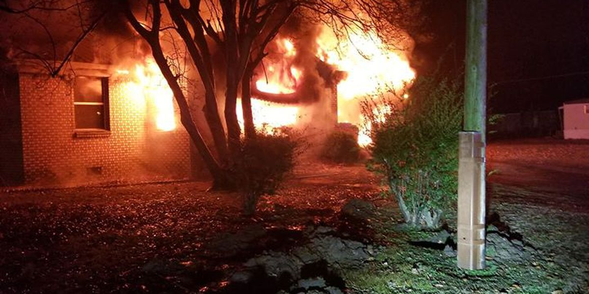Home a total loss after early morning fire in Portageville, MO