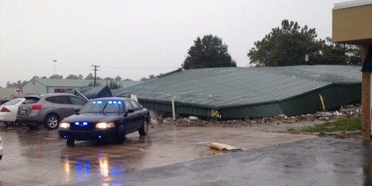 Four homes destroyed in Clay County, buildings damaged in Mississippi County