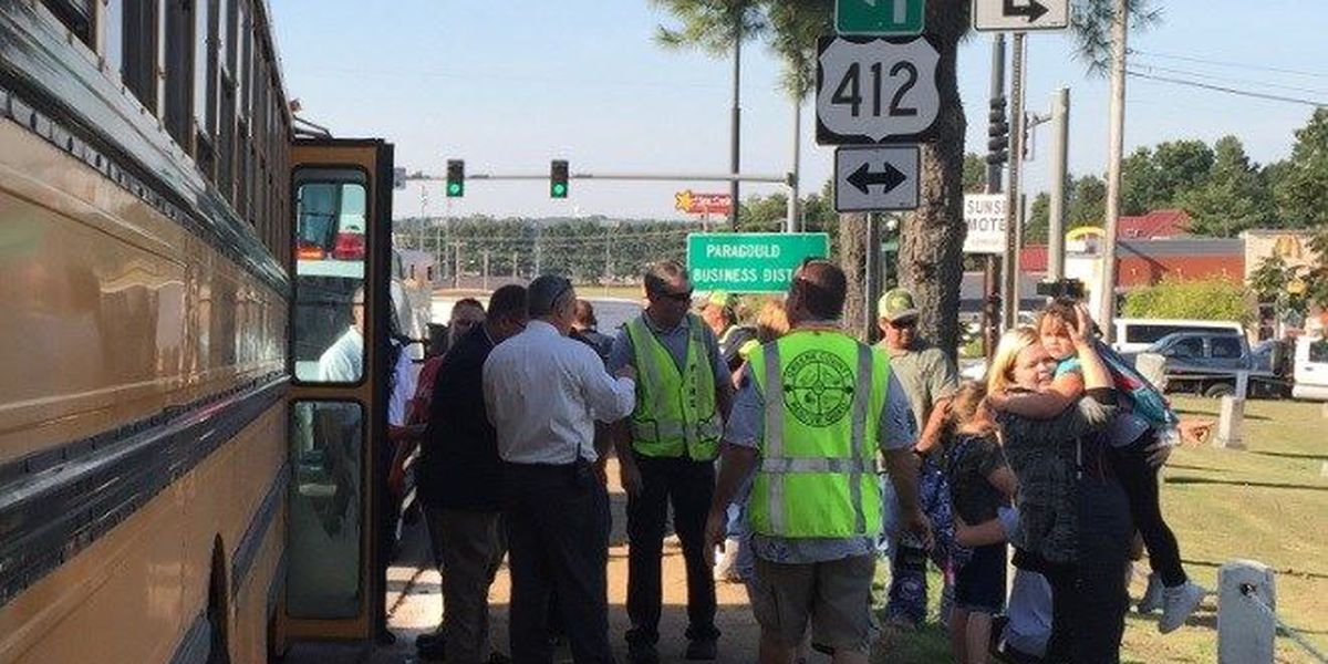 UPDATE: Students released, doing 'okay' after bus crash