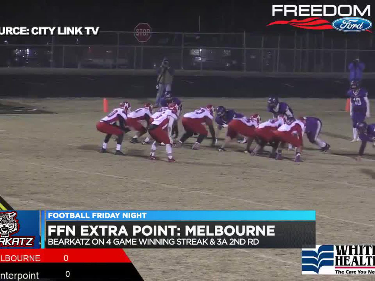 FFN Extra Point: Melbourne rolls in 3A 1st Round