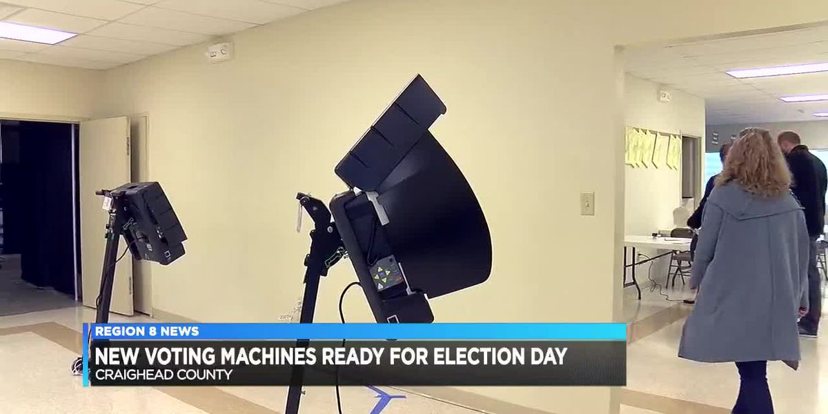 New Voting Machines Ready for Election Day
