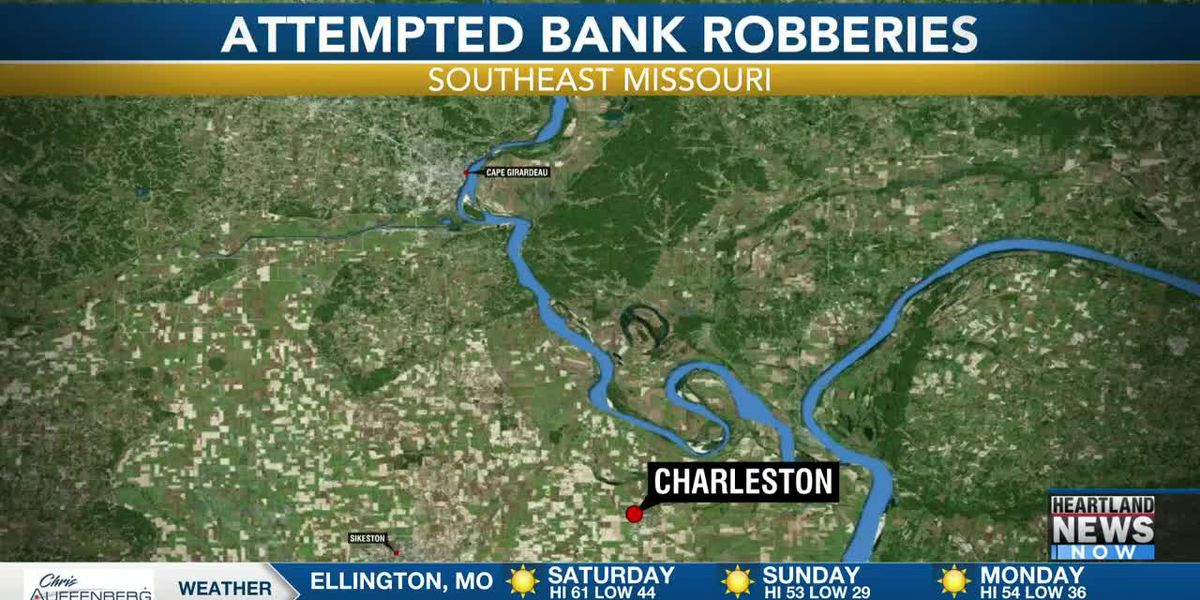 Suspect in custody after an attempted bank robbery and a bank robbery in southeast Mo.