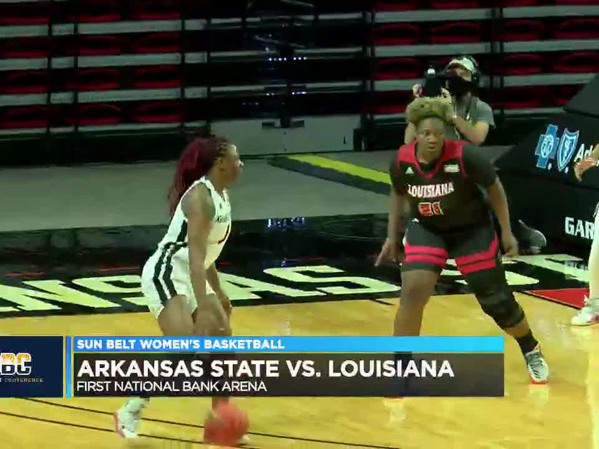 Mya Love has 21 pts but Arkansas State women fall to Louisiana