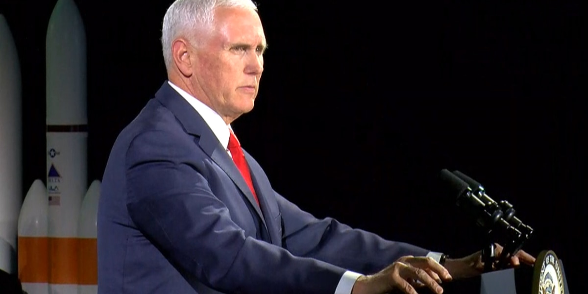 Vice President Pence: Americans will return to the moon within 5 years