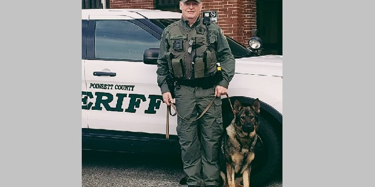 Sheriff's K9 officer to receive protective vest