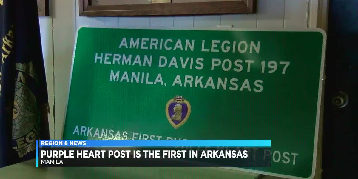 Purple Heart Post is the first in Arkansas