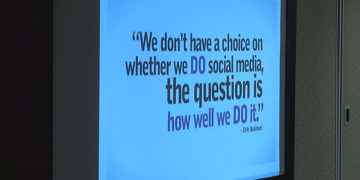 Class teaches how to utilize social media during natural disasters