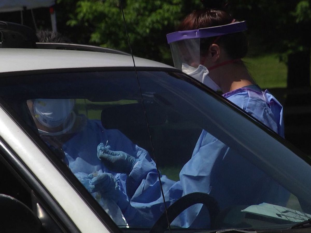 Free drive-thru COVID-19 testing held Saturday in Jonesboro