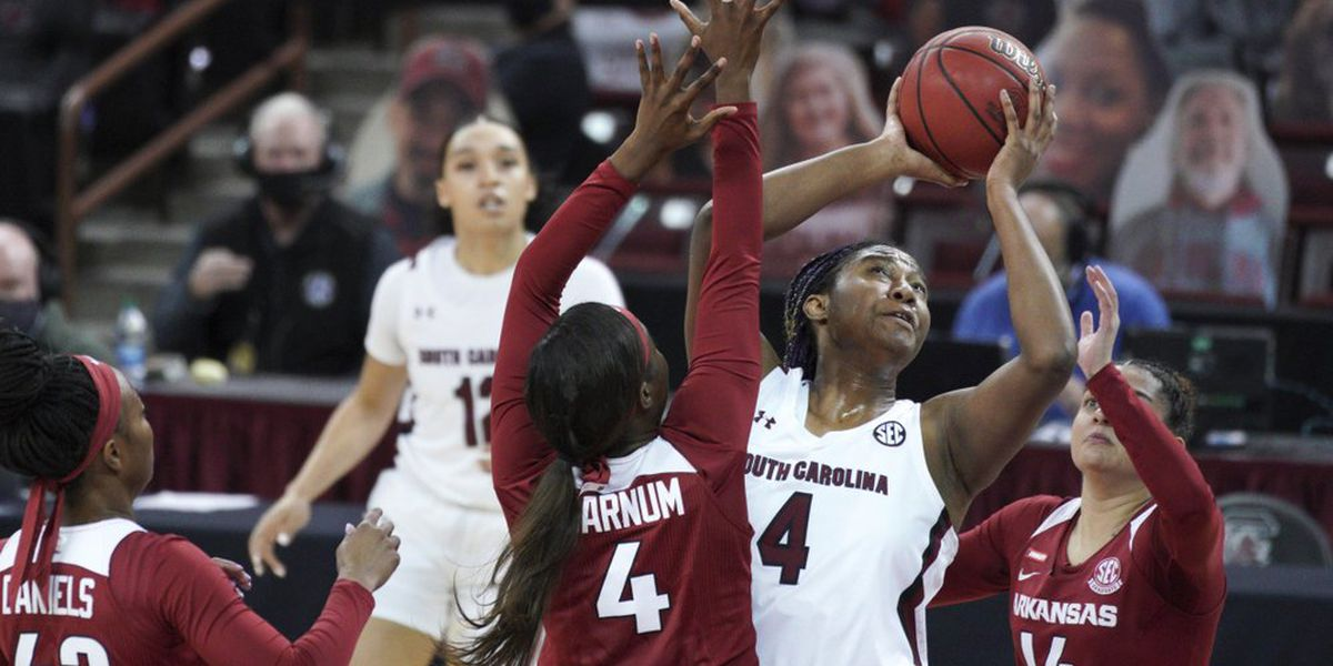#15 Arkansas women's basketball falls to #4 South Carolina
