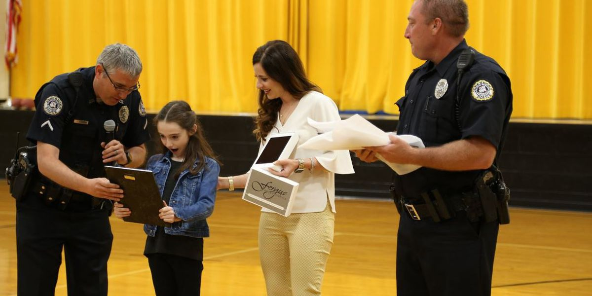 JPD honors girl who 'D.A.R.E.s' to make a difference