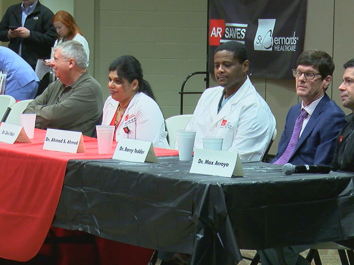 Annual event focuses on preventing strokes, heart attacks