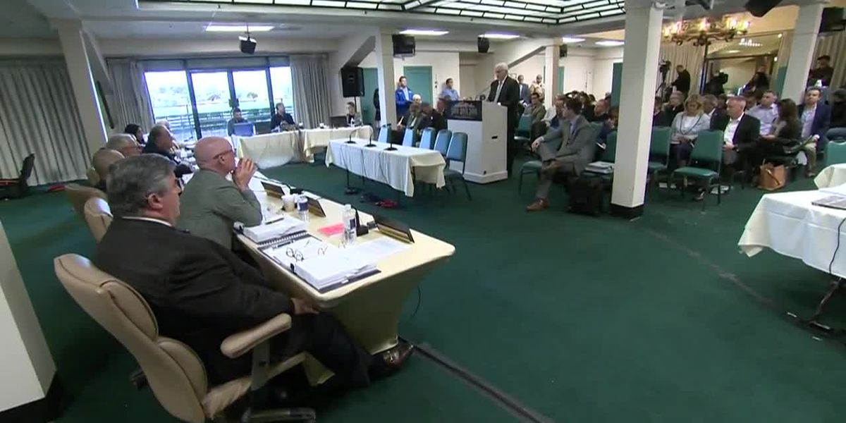 Tensions flare at California horse racing board meeting after 25 horses die since December