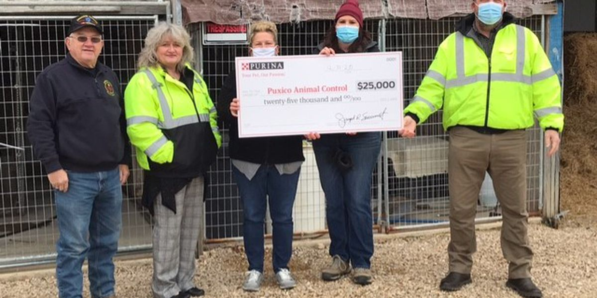 Nestle-Purina donates $25,000 towards new animal shelter in Puxico