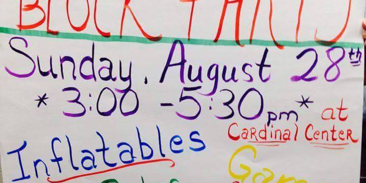 Back-to-school block party planned for Weiner students