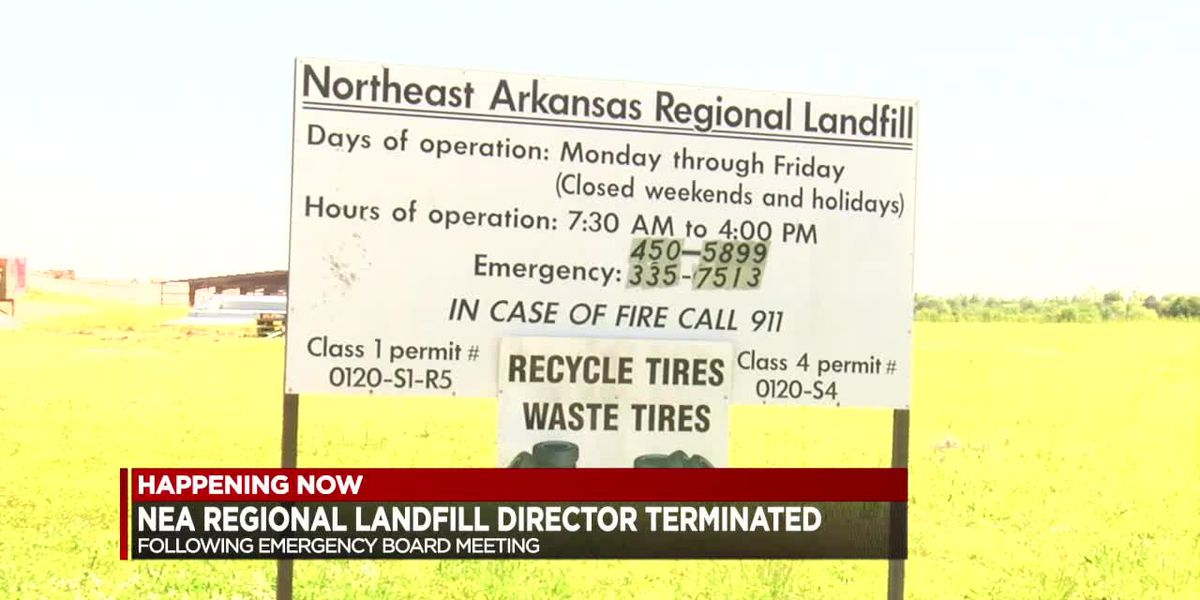 NEA Regional Solid Waste Management District terminates executive director, conducting immediate audit of district's finances