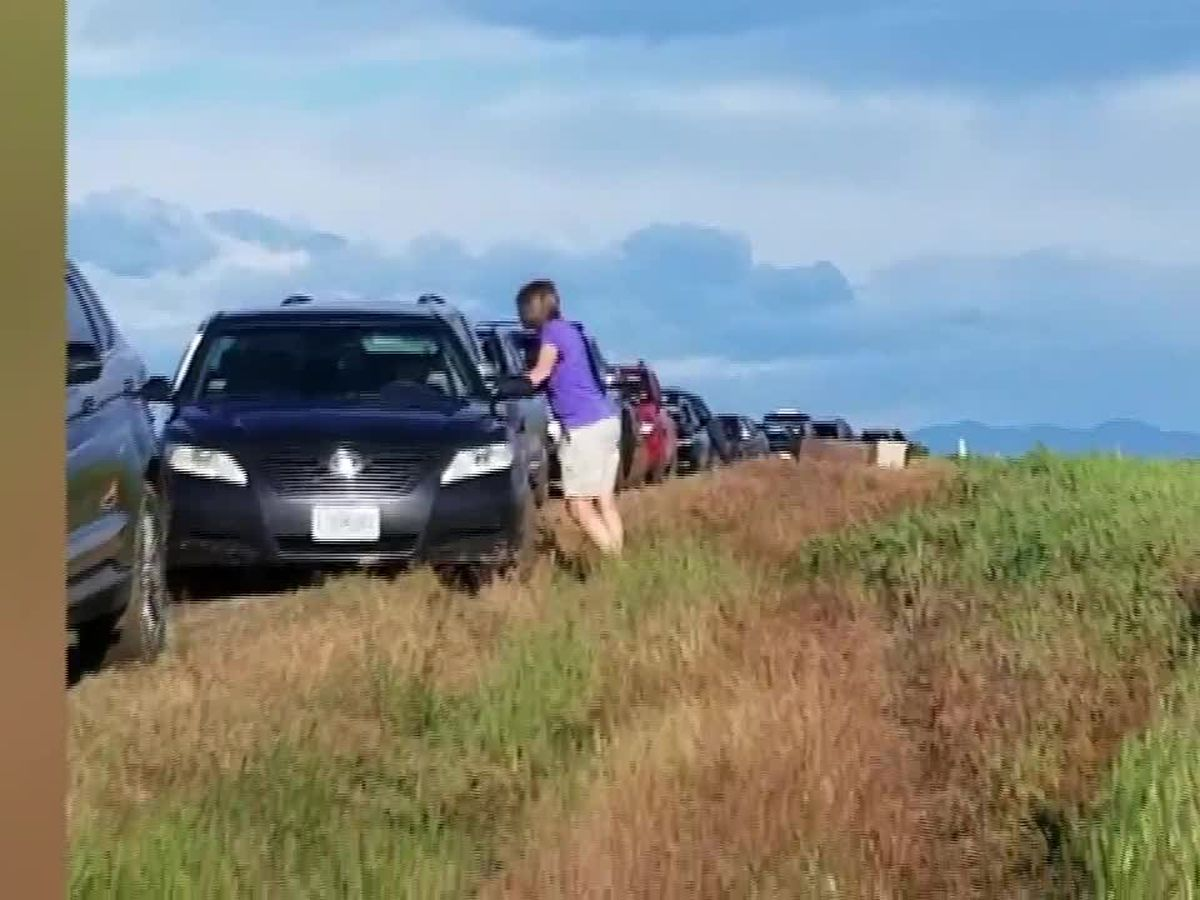 Dozens of drivers followed Google Maps directions and wound up stuck in mud