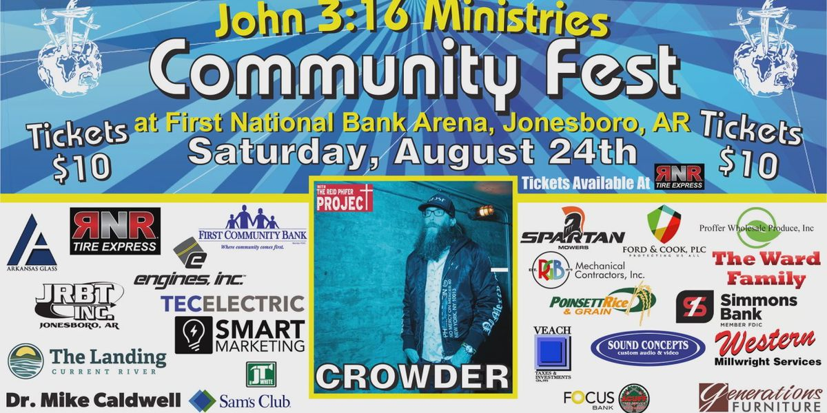 John 3:16 Ministries Community Fest scheduled for Saturday