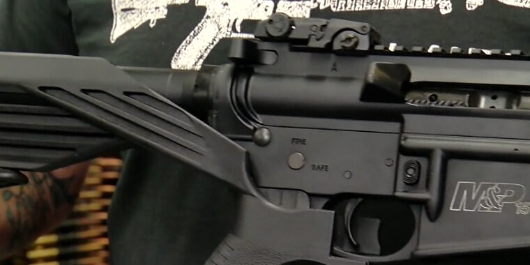 Bump stocks, which modifies rifles for rapid fire, now illegal to buy, sell, own