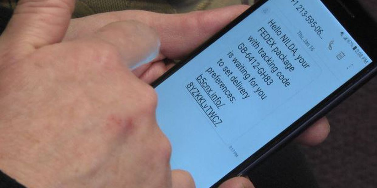 Attorney General: Package text delivers trouble to consumers