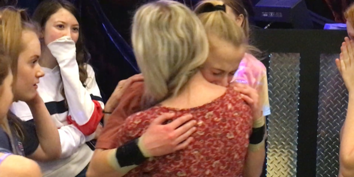 14-year-old girl dedicates 2,019 cartwheels for her late father